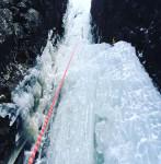 西上州アイスクライミング
