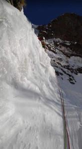 2P目 高度感満載なアイス