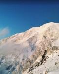 年末年始 聖岳西面B沢に掛かる氷壁
