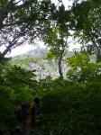 黒伏山南壁「中央ルンゼ」