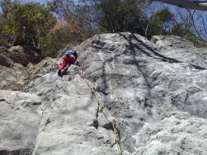 雷岩 クラック5.6
