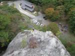 10月月例 白河・聖ヶ岩フリークライミング